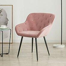 Dinning Stühle Nordic Gebürstet Kissen Sitze