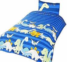 Dinosaur Kinder/Jungen Bettwäsche-Set