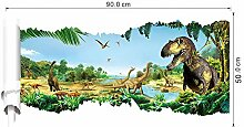 Dinosaurier 3d wandaufkleber dekoration diy