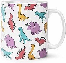 Dinosaurier Muster 283g Becher Tasse