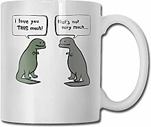 Dinosaurier reden Mode Kaffeetasse Porzellan Tassen