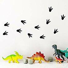 Dinosaurier-Tatzen-Druck-Wandaufkleber