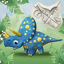 Dinosaurier & Triceratops Formen Fondant Kuchen