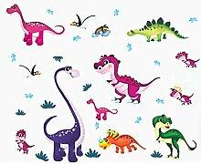 Dinosaurier Vögel Wand Aufkleber Home Aufkleber PVC Wandmalereien, Vinyl, Papier, House Dekoration Tapete Wohnzimmer Schlafzimmer Küche Kunst Bild DIY für Kinder Teen Senior Erwachsene Kinderzimmer Baby