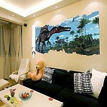 Dinosaurier Welt Aufkleber 3D Walling Jurassic