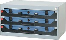 DINZL-ORDNUNGSTECHNIK GMBH 973773 Tresor 3F stapelbar 555x350x290mm f.Sortimentskasten m.Schaumstoff