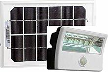 Diodor LED Solar Fluter mit Bewegungsmelder und Fernbedienung, 1 Stück, weiß, DIO-FL28W-WM-SP-W