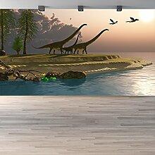 Diplodocus Wandbild Jura-Dinosaurier Foto-Tapete Kinder Schlafzimmer Haus Dekor Erhältlich in 8 Größen XX-Groß Digital