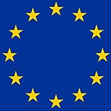 Diplomat magFlags Tisch-Fahne/Tisch-Flagge: Europa