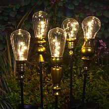 Direct Global Trading Noma Moderne Metall-Lampe,