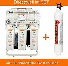 Directquell Umkehrosmose Wasserfilter inkl. XL