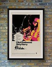 Dirty Harry Filmposter von Bill Gold, 1971