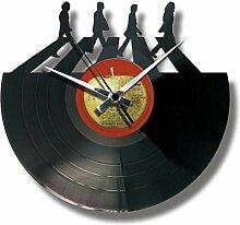 Disc'O'Clock Wanduhr aus Vinyl LP 33 Leise