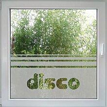 Disco Fensterfolie von Create&Wall - trendige Akzente fürs Kinderzimmer