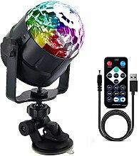 Discokugel 5V RGB LED Disco Licht Für Home Sound
