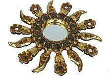 Discount Ethnic Spiegel Sonne gold venezianischen 30cm.