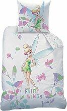 Disney 045068Fairies Wings Bettwäsche für