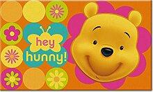 DISNEY 10632 Fun Line Winnie The Pooh Teppich,