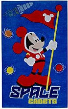 DISNEY 10641 Fun Line Mickey Teppich,