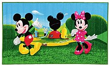 Disney 15419 Mickey Mouse Clubhouse Teppich,