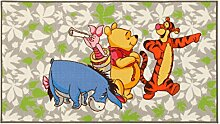 Disney 18175 Action Line Winnie & Friends Teppich,