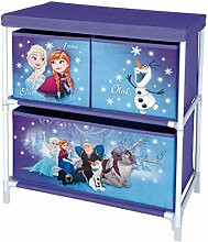 Disney Aufbewahrungsschrank, Holzdekor, Lila, 54 x