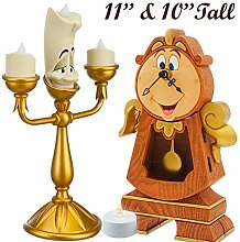 Disney Beauty and the Beast Cogsworth Lumiere