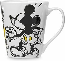 Disney Becher mit Mickey Mouse Motiv, Porzellan,