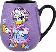 Disney Becher Mit Schläfriger Daisy Duck Und Spruch