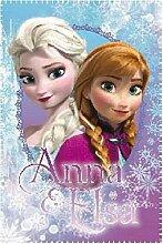 Disney Bettüberwurf, Fleece, Motiv mit Anna und