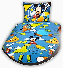 Disney Bettwäsche Mickey Mouse Himmel 135 x 200