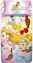 Disney Bettwäsche, Rosa, 1 Einzelbe