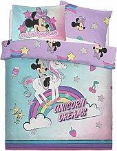 Disney Bettwäsche-Set für Doppelbett, Baumwolle,