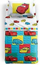 Disney Caleffi Cars Friends Tagesdecke Einzelbett