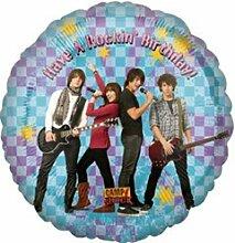 Disney Camp Rock Geburtstag 45cm Folienballon