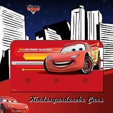 Disney Cars 3er Kleiderhakenleiste 14x 27 cm