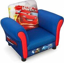 Disney Cars Armlehne Stuhl mit Holz Innenteil Einzelsofa Kindersofa Sitzplatz Sessel NEU