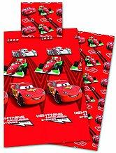 Disney Cars Bettwäsche Microfaser 135x200cm +