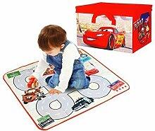 Disney Cars Kinder 2-in-1 Spielzeug & Spiele Aufbewahrungsbox Brust mit Spielmatte