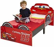 Disney Cars Kinderbett rot Jungenbett Bett Lightning McQueen Holzbe