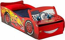Disney Cars Lightning McQueen - Bett für Kleinkinder mit Stauraum
