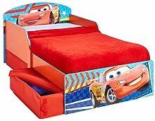 Disney Cars Lightning McQueen Kinderbett Bett Kinderzimmer Möbel Schlafen Jugendbett Babybett Auto