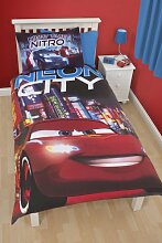 Disney Cars Neon Single Bettwäsche-Se