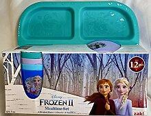Disney Die Eiskönigin II Müsli-Set, 4 Teller, 4