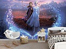 Disney Die Eiskönigin Wandtapete Frozen 2, Elsa,