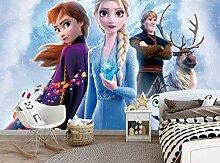 Disney Die Eiskönigin Wandtapete Kinderzimmer