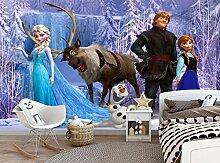 Disney Die Eiskönigin Wandtapete Mädchen Zimmer