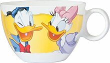 Disney Donald Becher Jumbo, Porzellan, mehrfarbig