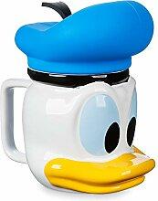 Disney Donald Duck Tasse mit Deckel
