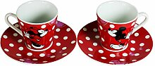 Disney Espressoset Mickey Mouse/Minnie, Zwei